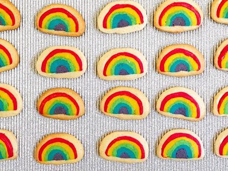 Galletitas arco iris