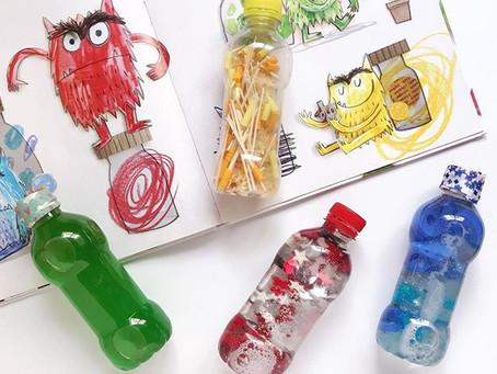 Botellas sensoriales para las emociones