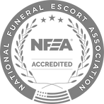 National Funeral Escort Association -NFEA - Accredited Logo