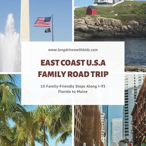 East Coast Family Road Trip: Florida to Maine