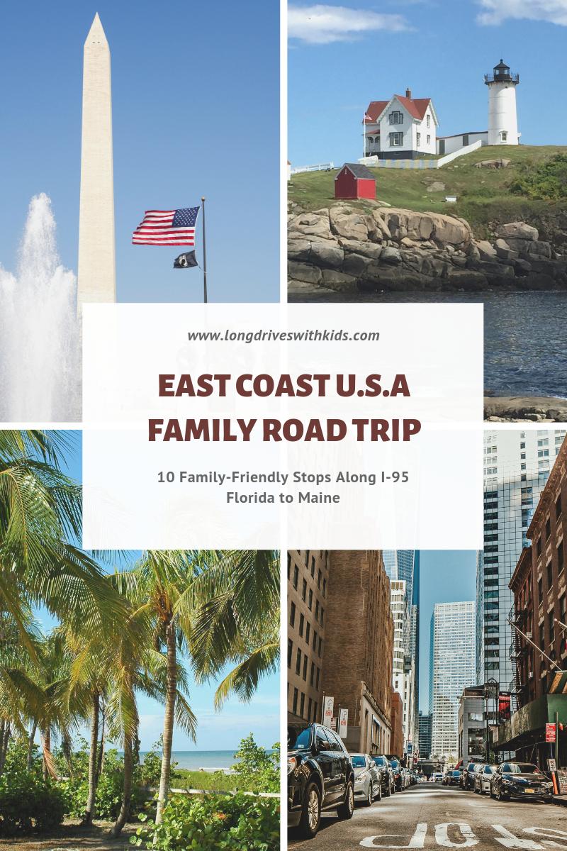 East Coast Family Road Trip Florida To Maine