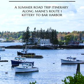 Coastal Maine: Route 1 Family Road Trip