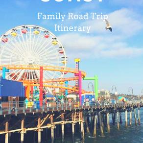 Southern California Coast: Family Road Trip