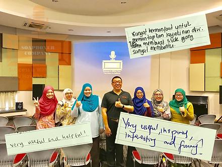 Coach Edwin Lim At Universiti Brunei Darussalam