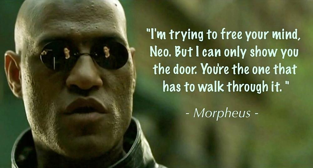 Morpheus quote