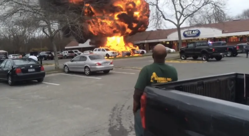 Bed bug car fire