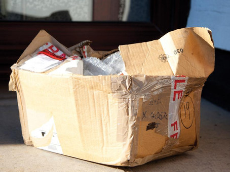 What's in Your Box? (AKA: Gonna need a bigger role of tape)