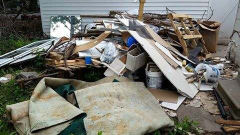 construction trash