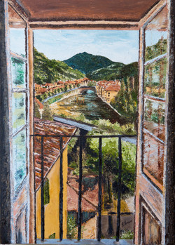 Bagni di Lucca- A room with a view