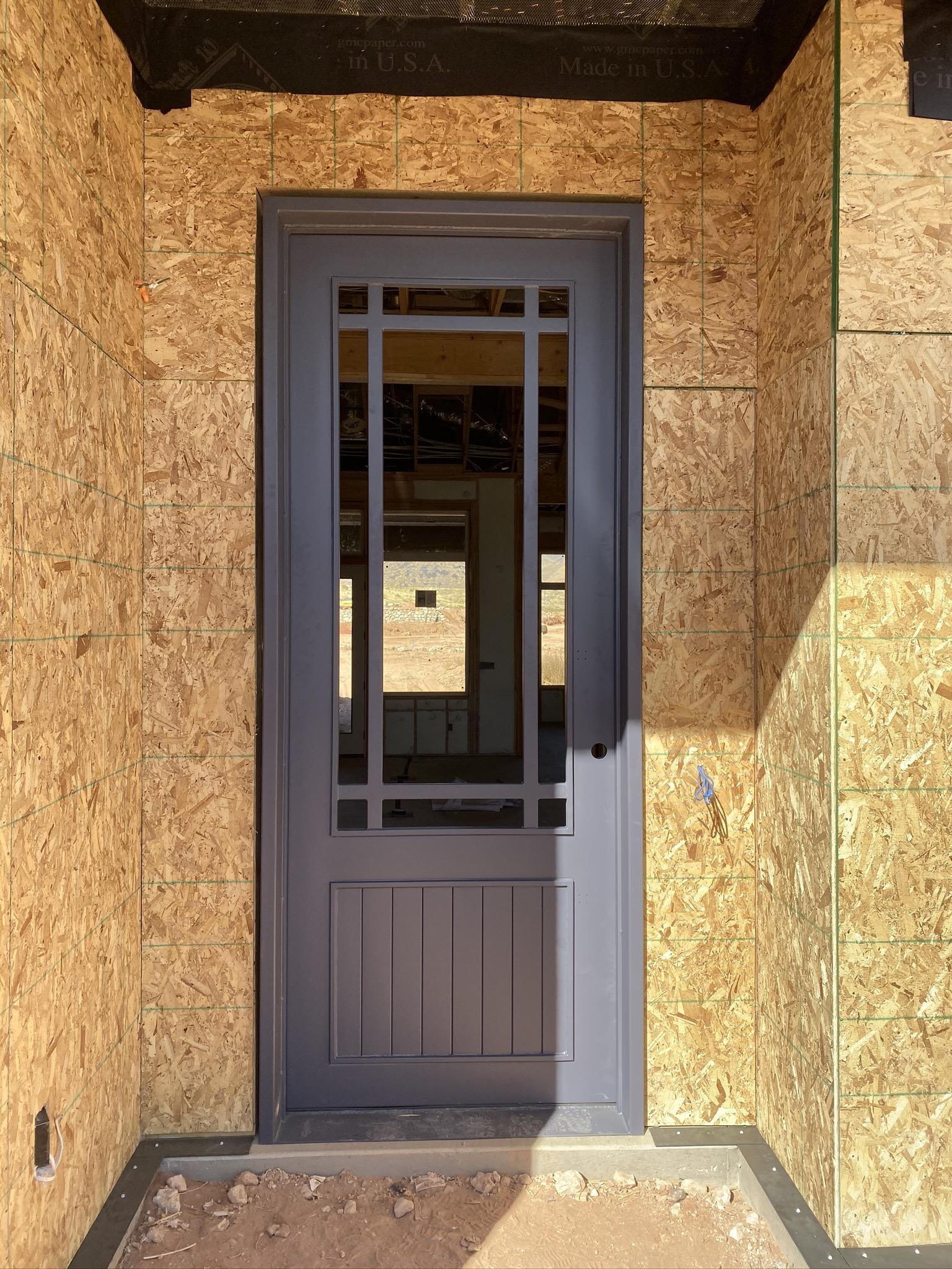 10ft Custom Steel Door