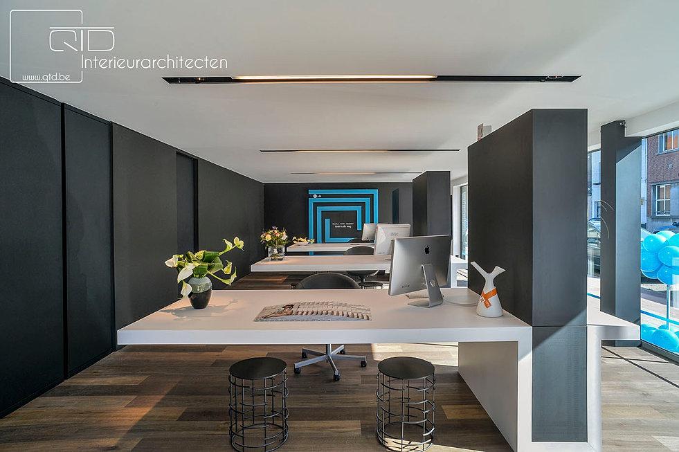 Design kantoor modern moderne kantoor interieur u for Kantoor interieur design