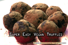Super Easy Super Food; Vegan Truffles