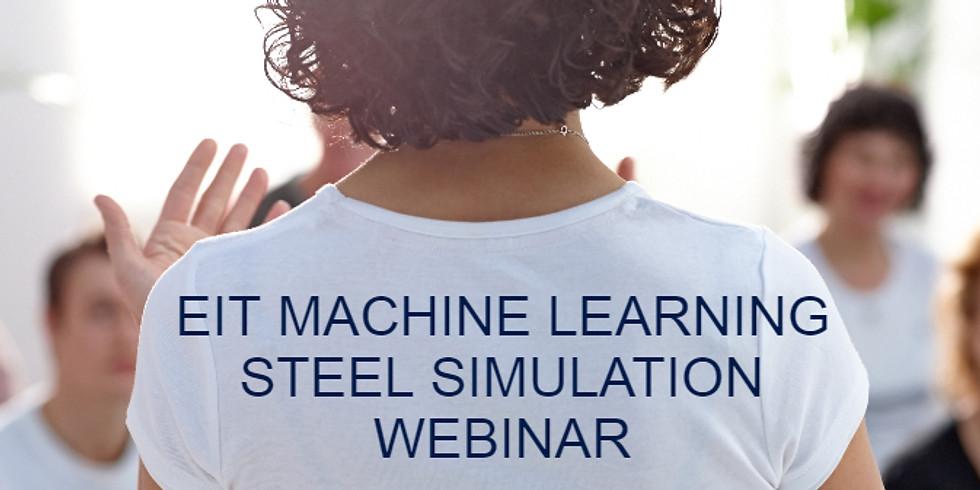 EIT machine learning steel properties simulation webinar