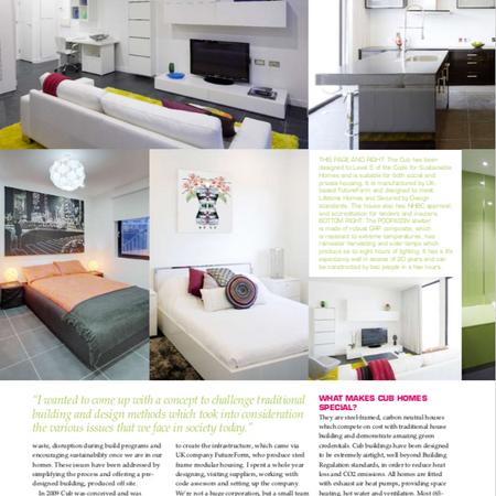 Self build and design magazine.