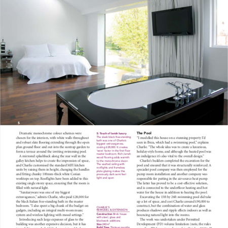 Home building and renovation magazine