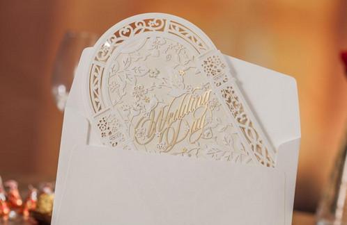 Groom And Bride Wedding Invitations, Laser Cut Invitations, Church Wedding  Each Invitation Include: 1 X Laser Cut Church Gate 1 X Gate Inner Card 1 X  ...