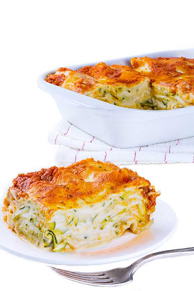 Grain free Vegetarian Zucchini Lasagna