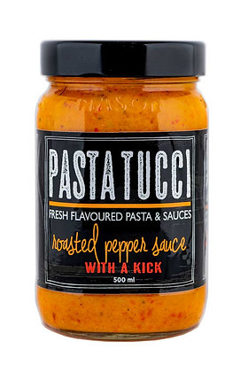 Roasted Pepper Sauce With A Kick