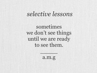 selective lessons