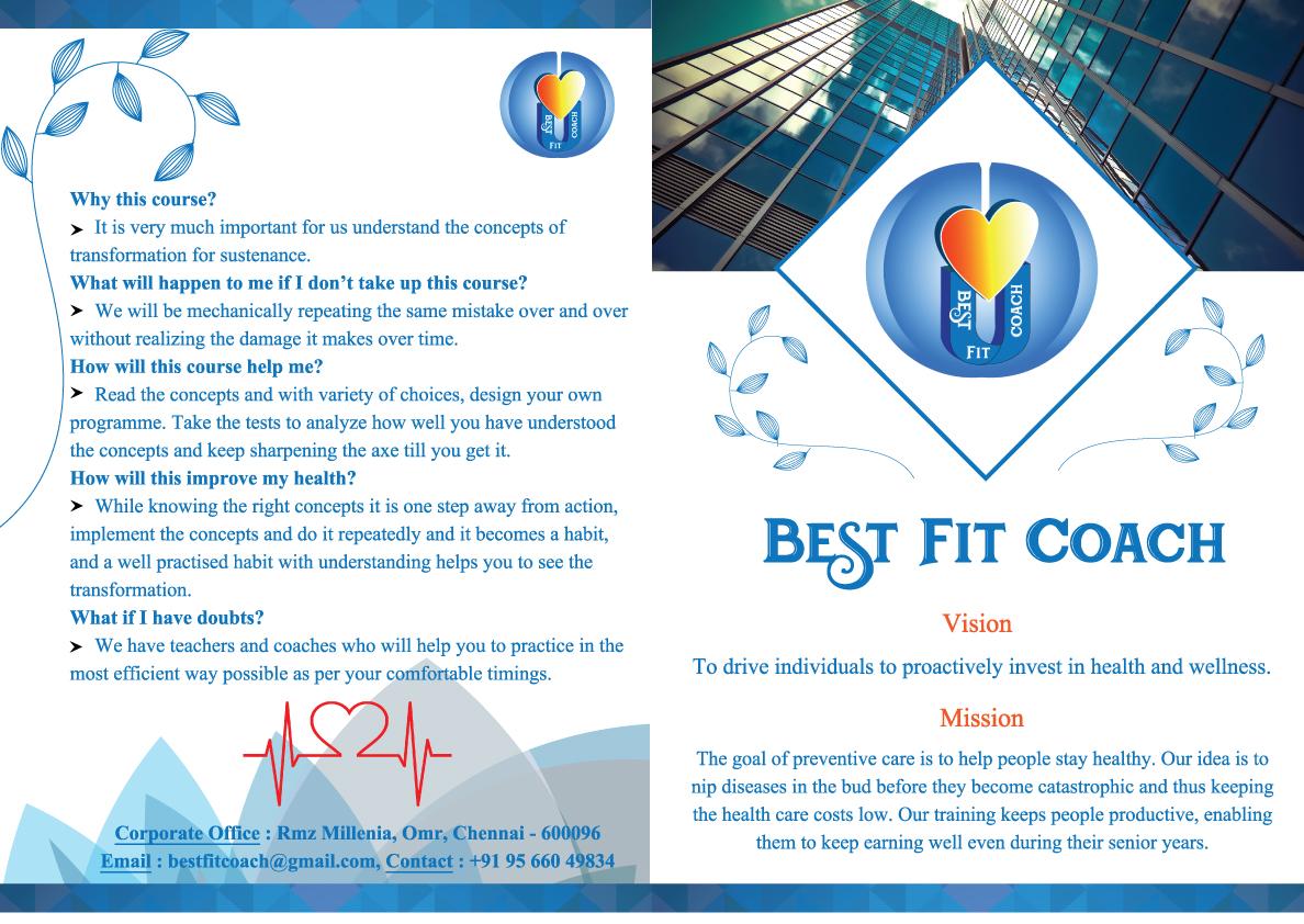 Best Fit Coach Brochure