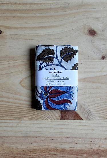 furoshiki emballage cadeau écoresponsable tissu zéro déchet zerowaste fait en France Lyon artisanat création créatrice