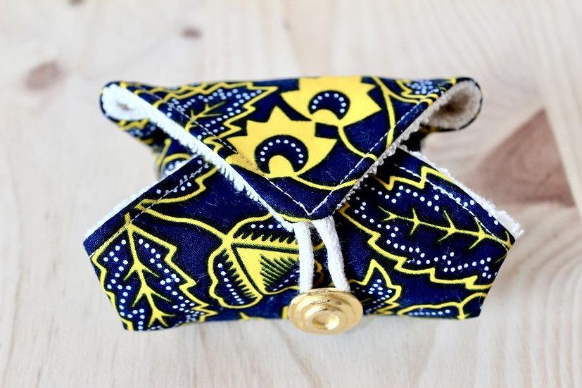 porte savon pochette zéro déchet tissu création made in France Lyon éponge bio biologique coton fait main créatrice créateur