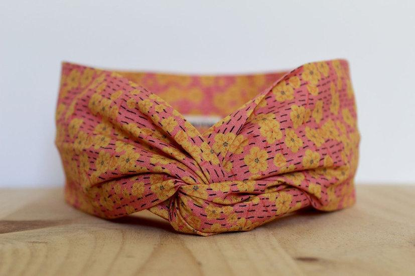 bandeau headband Lyon France créatrice créateur création artisanat fait main coiffure foulard printemps été cadeau éthique