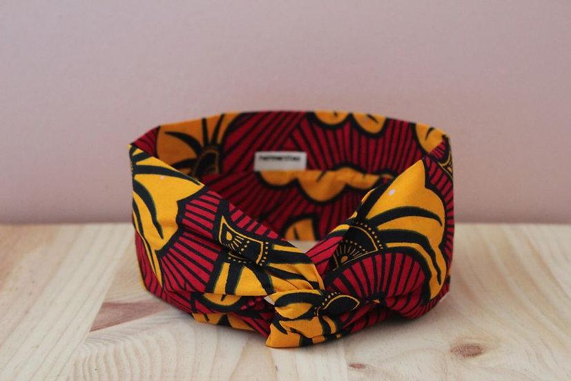Bissau rouge & jaune