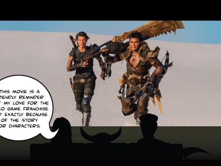 Monstrous Troubles: Sickle's Take on Monster Hunter
