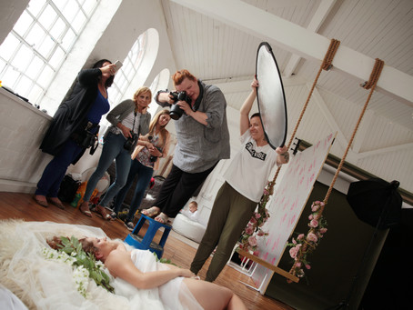 Maternity photography workshop in Studio Imagine, Kettering