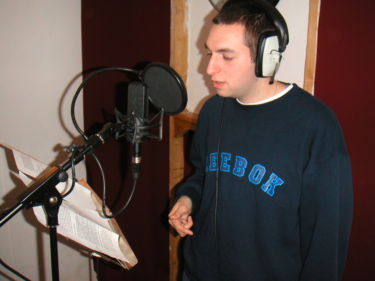 Antithesis the Zionist Rapper Recording Looking for Home