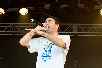 Antithesis the Zionist Rapper performs i
