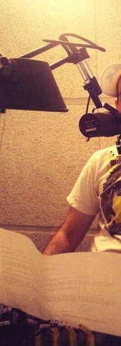 Kol Cambridge in the Studio