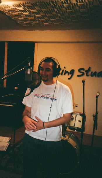 Antithesis the Zionist Rapper Recording Ima Mechaka Babayit