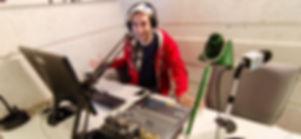 DJ Antithesis in the Kol Cambridge Studio