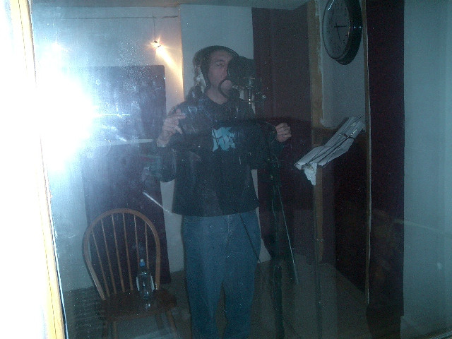 Antithesis the Zionist Rapper Recording Just Peace
