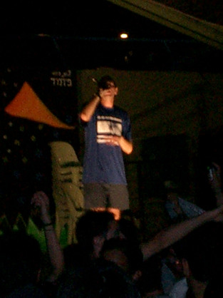 Antithesis the Zionist Rapper Performs at Meimadion, Israel