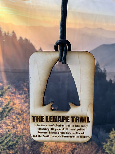 Lenape Trail Wood Medal