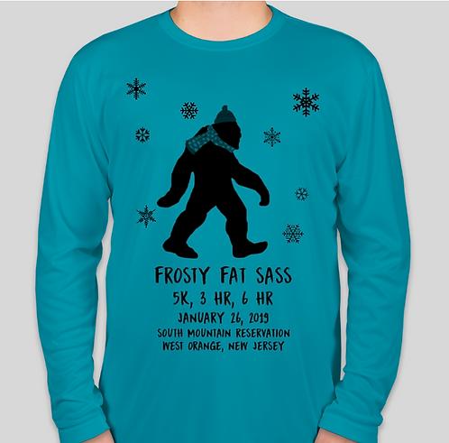Frosty Fat Sass - Men's Tech Long Sleeve