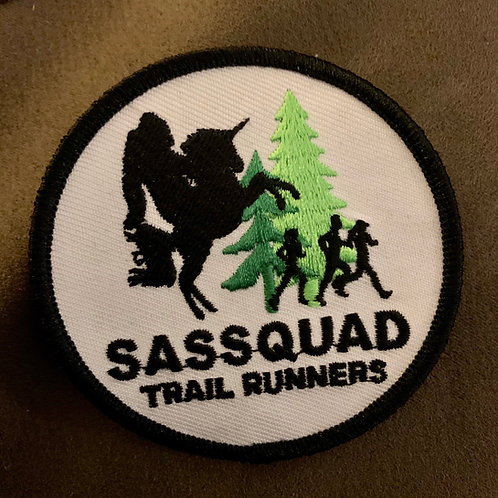"""Sassquad 3"""" Patch"""