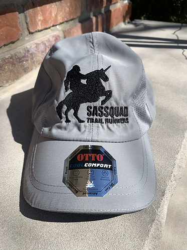 Gray Tech Hat