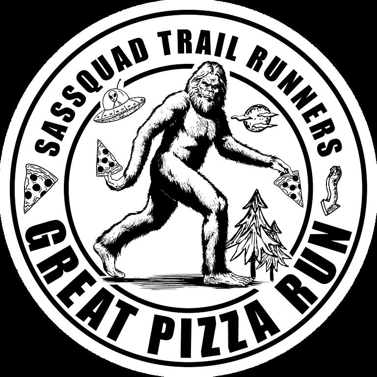 Sassquad Trail Runners Great Pizza Run