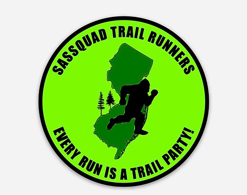 TRAIL PARTY STICKER