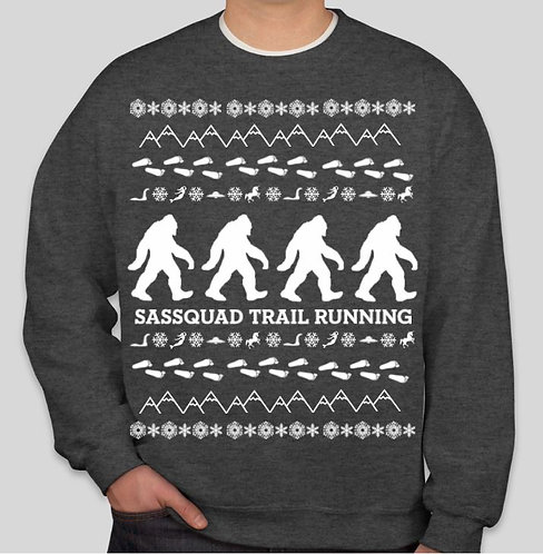 It's the most SQUATCHYFUL time of the year - Crewneck Sweatshirt GRAY