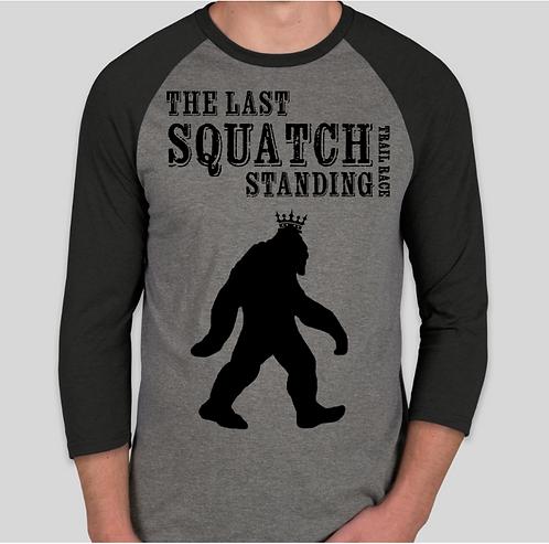 The Last Squatch Standing - Men's Raglan
