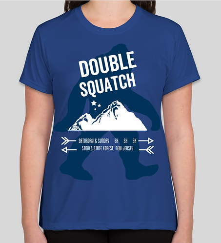 Double Squatch Women's Race Tech Tee