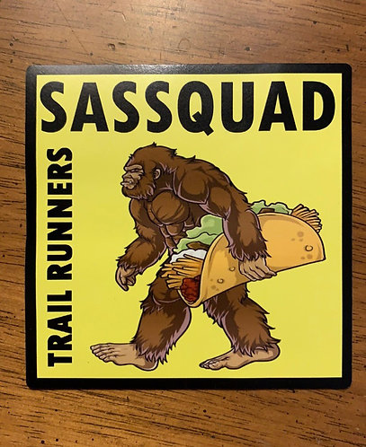 Squatchy Taco Magnet