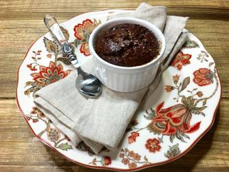 Bolo de Chocolate com Castanha de Caju
