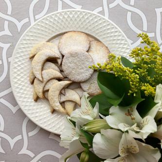 Biscoito Grego de Amêndoas - Kourabiedes