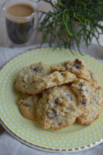 Cookie de Coco, Avelã e Chocolate